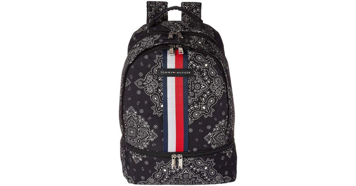 bfff2e71 Tommy Hilfiger American Bandana Backpack (fuchsia) Backpack Bags in Black -  Lyst