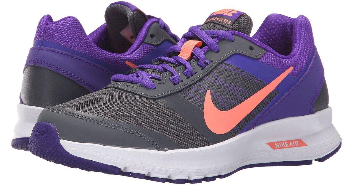 bfe5634daf5 Nike - Purple Air Relentless 5 - Lyst