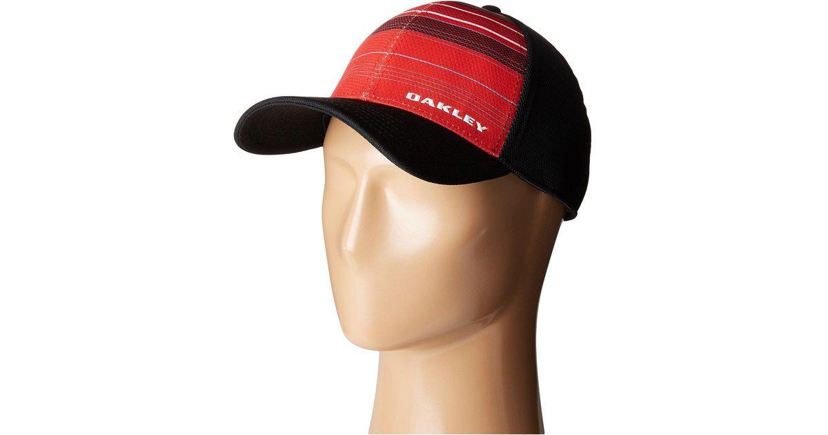 da684a433 Oakley - Multicolor Silicon Bark Trucker Print 2.0 Hat for Men - Lyst