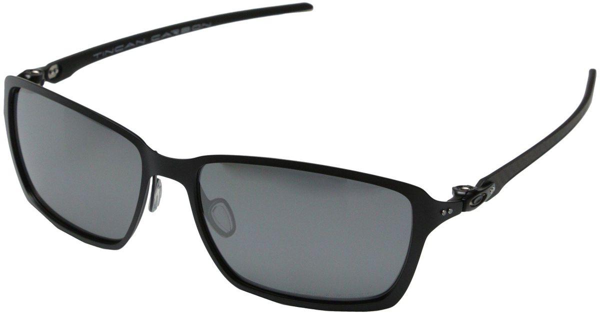 d10656f26b Lyst - Oakley Tincan Carbon in Black