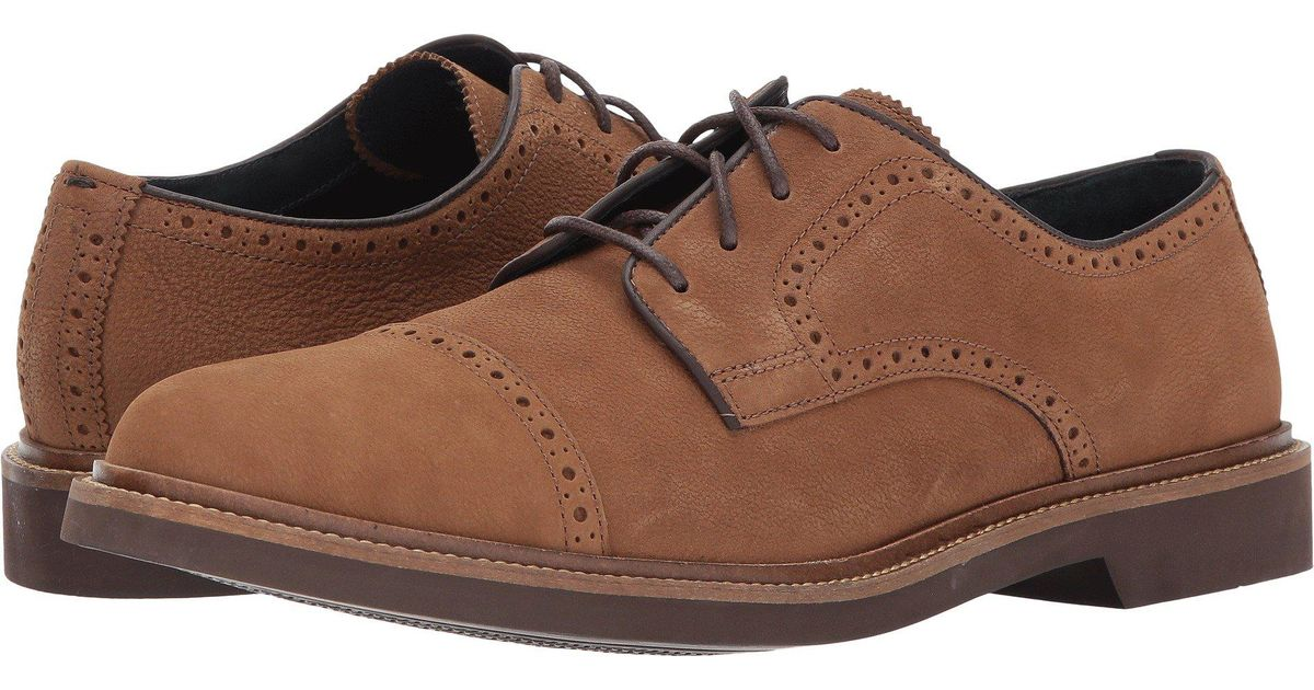 Lyst Cole Haan Carver Cap Ox Ii In Brown For Men