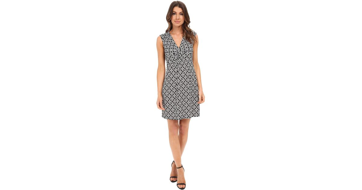 Lyst Laundry By Shelli Segal Short Sleeve Empire Waist Dress With