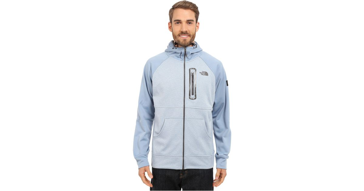 7d9ead162 The North Face Blue Mack Mays Full Zip Hoodie for men