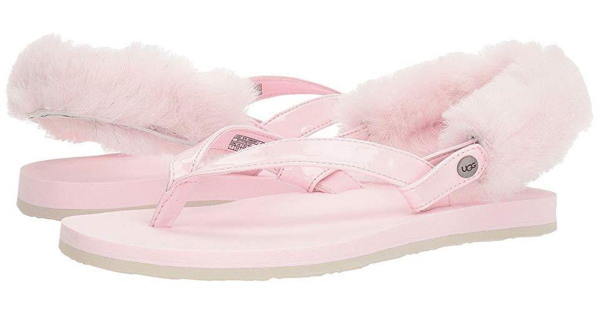 263ac7ef246 Ugg - Laalaa (seashell Pink) Sandals - Lyst
