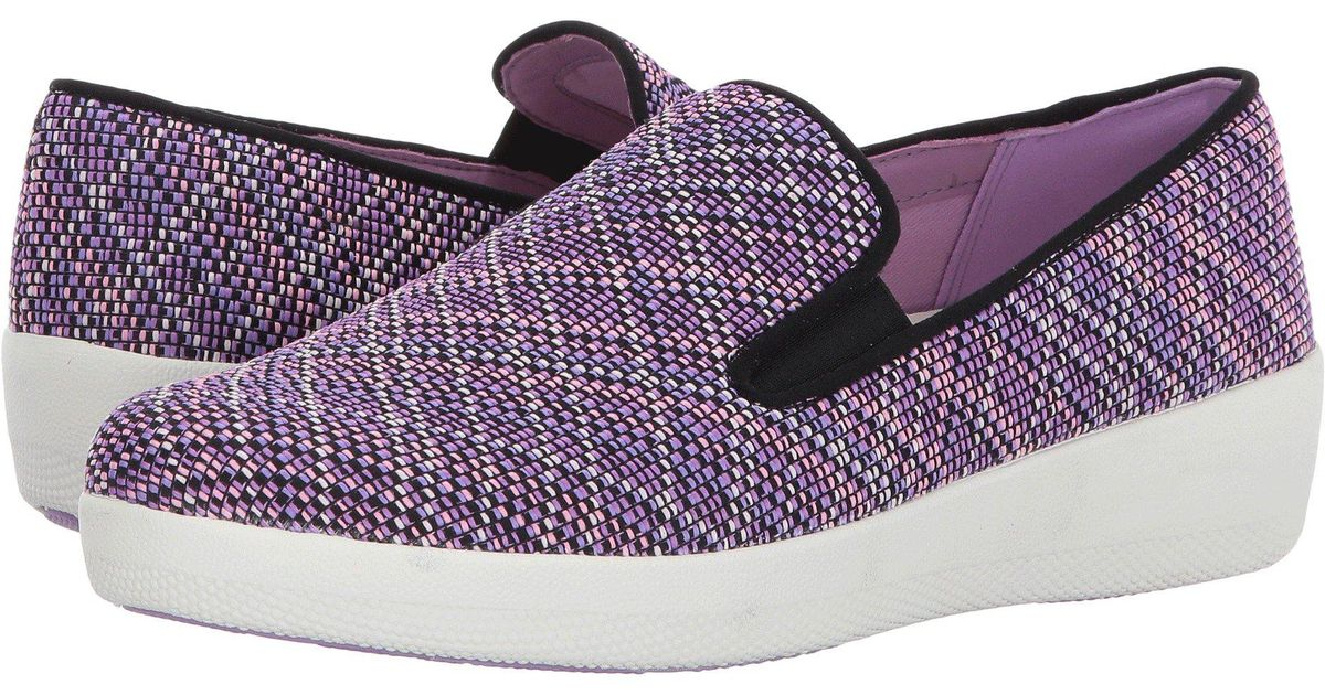 e16c1385b Lyst - Fitflop Superskate in Purple - Save 45%