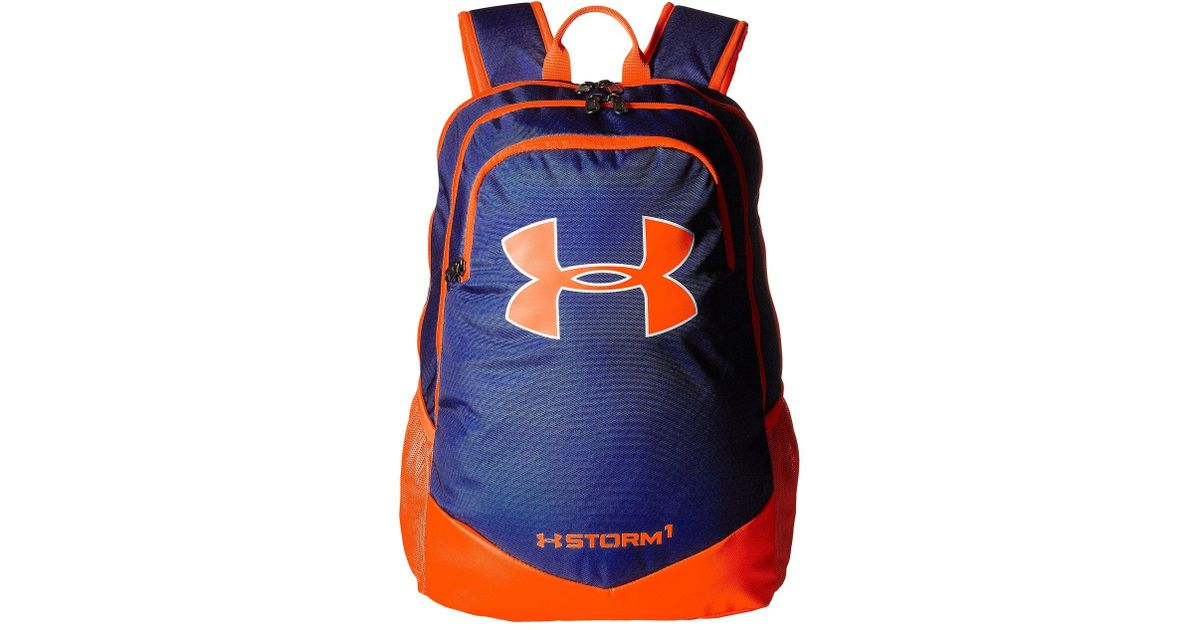 3596de948dd8 Lyst - Under Armour Ua Scrimmage Backpack (youth) in Orange for Men