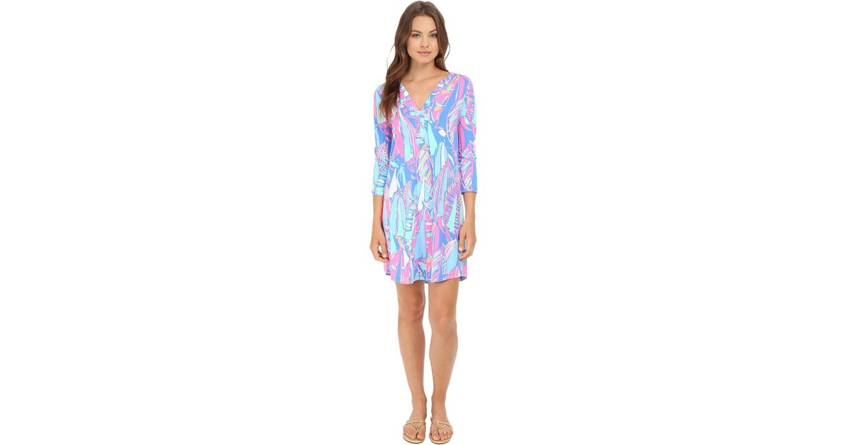 d344f7ea04c5ae Lyst - Lilly Pulitzer Ali Dress in Blue