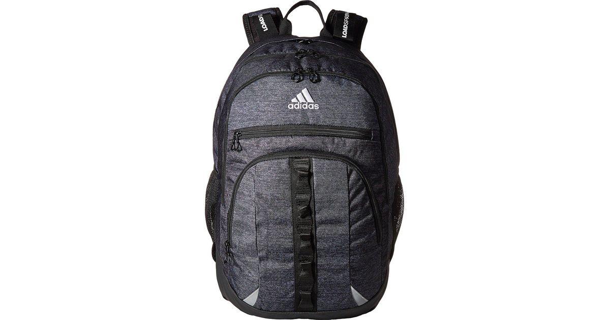 0517f6cef88 adidas Prime Iii Backpack in Black - Lyst