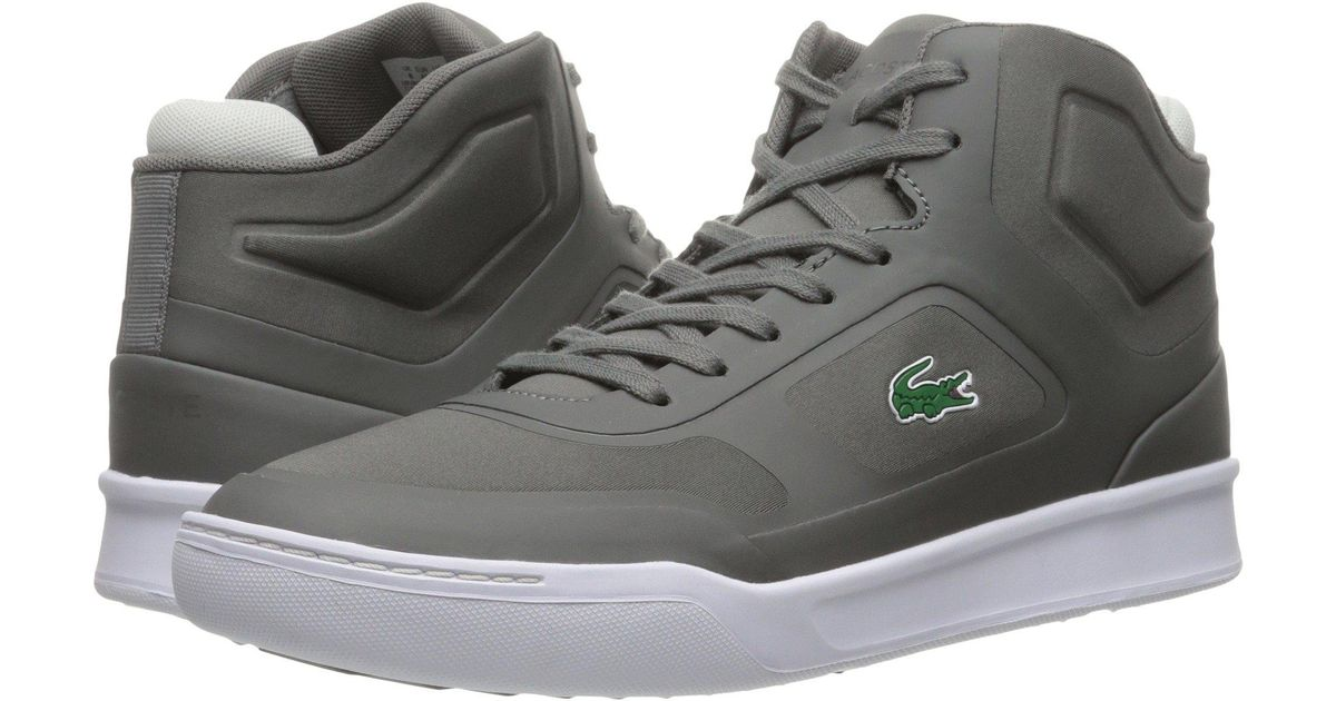 394d62605eeb Lyst - Lacoste Explorateur Mid Spt 316 1 Spm Fashion Sneaker in Gray for  Men - Save 29%
