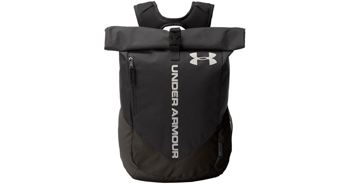 8106e97149 Lyst - Under Armour Ua Roll Trance Sackpack in Black for Men