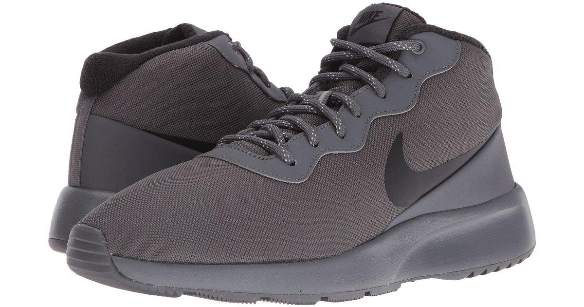 Lyst - Nike Tanjun Chukka in Gray for Men cacdfc153