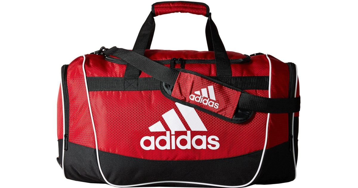 f629689139b2 Lyst - adidas Defender Ii Duffel Small in Red for Men
