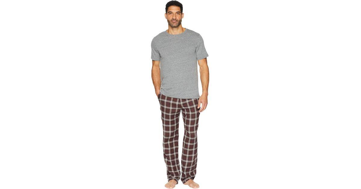 Lyst - Ugg Grant Woven Sleepwear Set in Gray for Men d77535cad