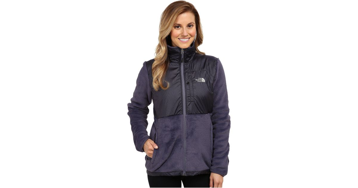 9a00eb763e70 Lyst - The North Face Luxe Denali Jacket in Blue
