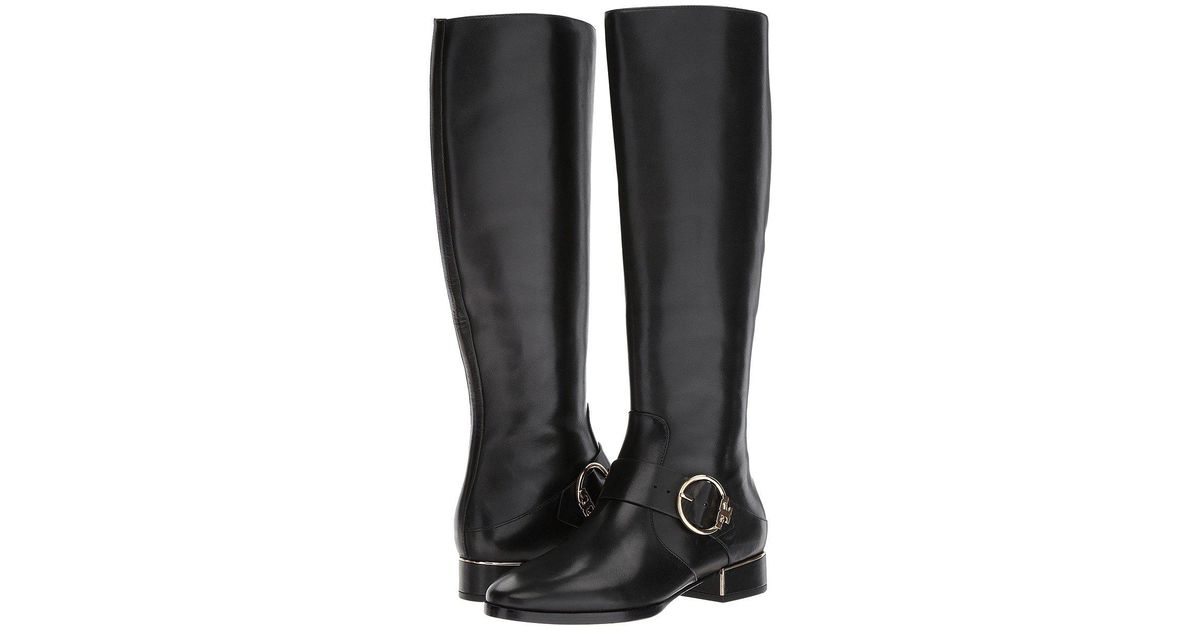 9bf54ad1e Lyst - Tory Burch Sofia Riding Boot in Black