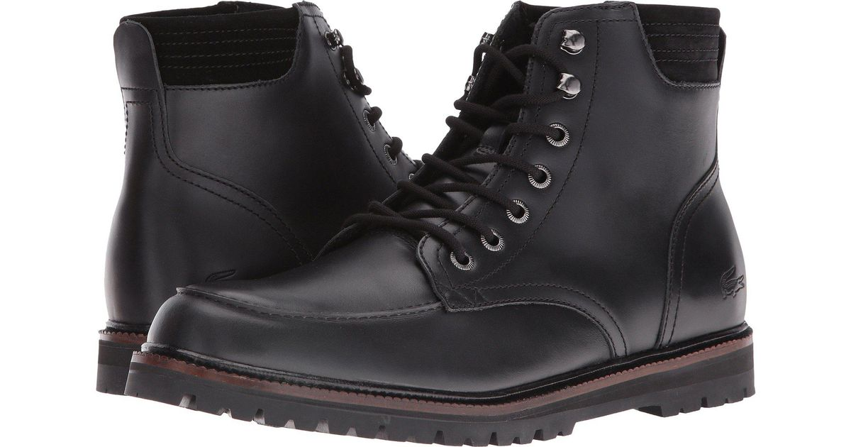 e66f89e611d6fa Lyst - Lacoste Montbard Boot 316 1 in Black for Men