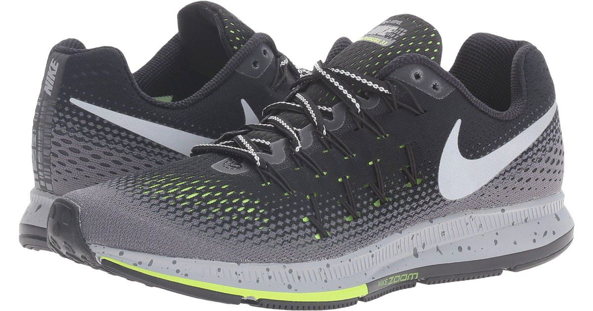 classic fit 79e6b 53924 Lyst - Nike Air Zoom Pegasus 33 Shield in Gray for Men