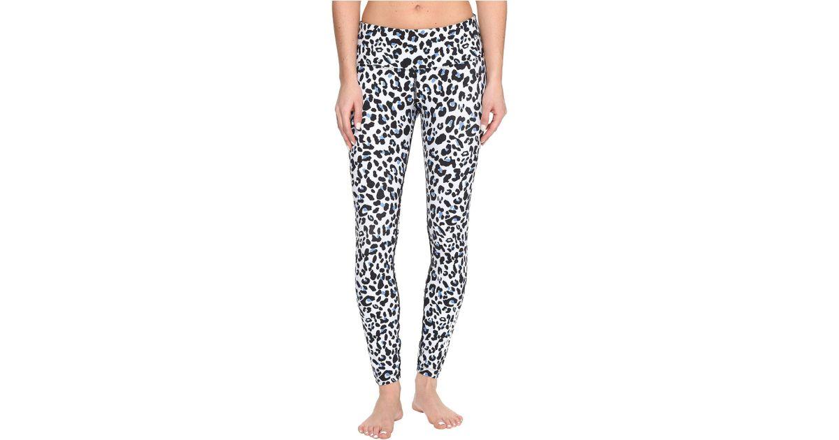 cda53fa0119e5a Lorna Jane Cheetah Core F/l Tights in Black - Lyst
