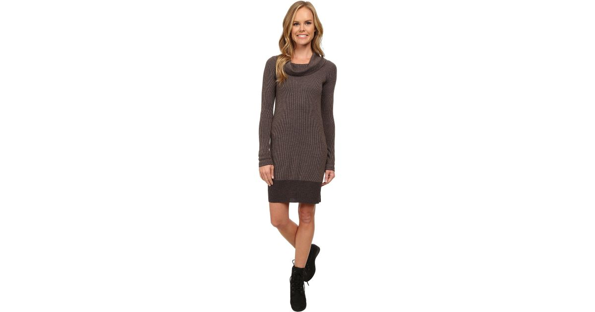 7833e4c529fc2 Toad Co - Brown Uptown Sweater Dress - Lyst