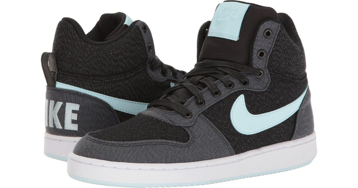 6b2b9c69c6d221 Lyst - Nike Recreation Mid-top Premium in Black