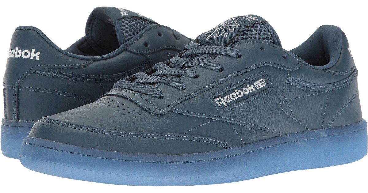 5f6abf77ea162 Lyst - Reebok Club C 85 Ice Fashion Sneaker in Blue for Men