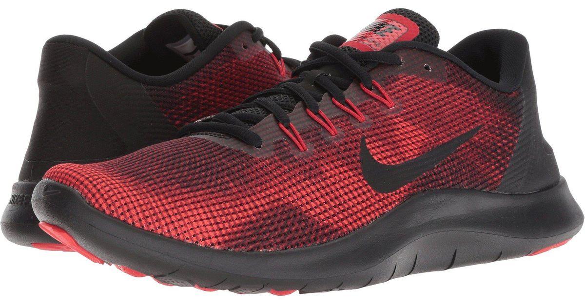 b6630dc3520d6 Lyst - Nike Flex Rn 2018 in Red for Men