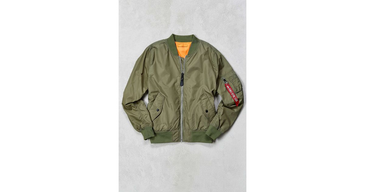 a12e3aedb Alpha Industries Natural L-2b Scout Bomber Jacket for men