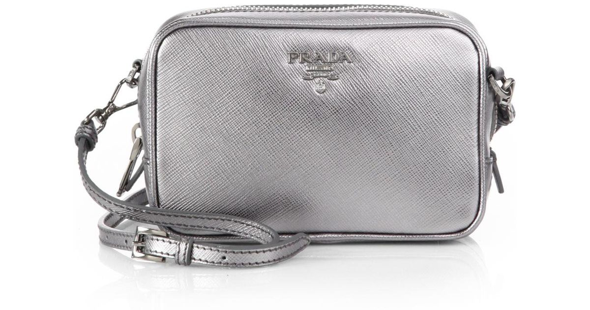 Prada small bag chrome
