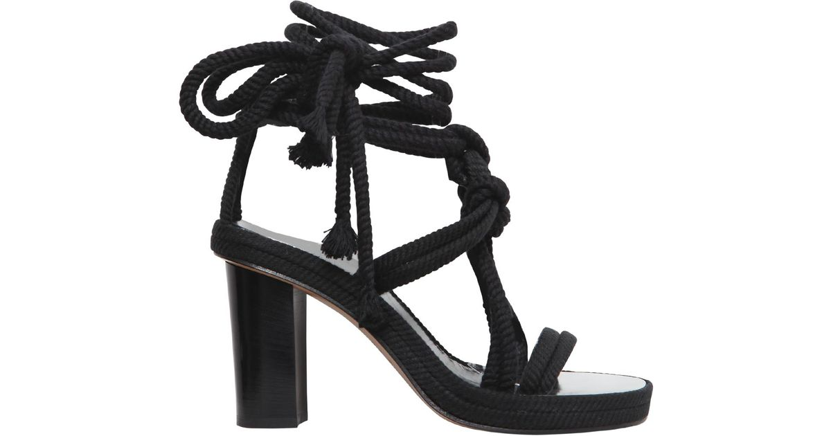 Isabel Marant Tasman Rope Sandals view online finishline for sale sale clearance store SuDp5oyUP