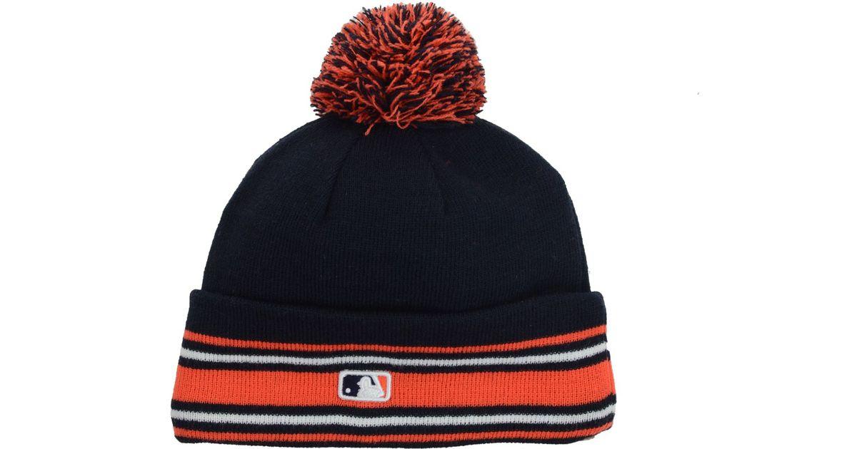a1183cf84 KTZ Blue Houston Astros Mlb Ac Knit Hat for men