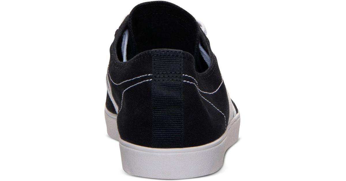 Lyst - adidas Men S Neo Easy Vulc Ad Shoe Black White in Black for Men 459019341
