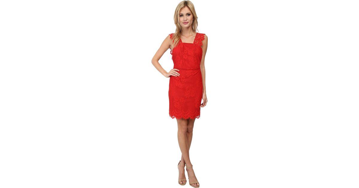 fdd0bea342c8 For Love & Lemons Tiki Bar Cocktail Dress in Red - Lyst
