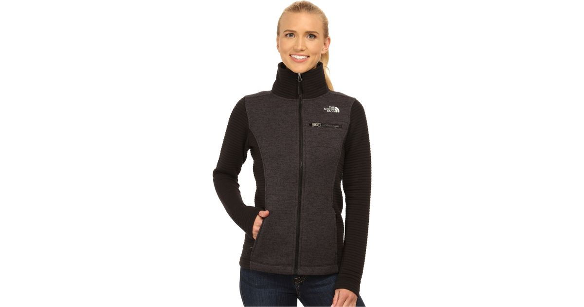 c131c1650 The North Face Black Indi Insulated Full Zip Jacket