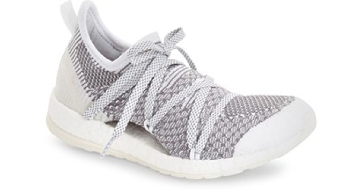 Lyst - adidas Originals By Stella Mccartney  pure Boost  Running Shoe in  Gray cd7121eca