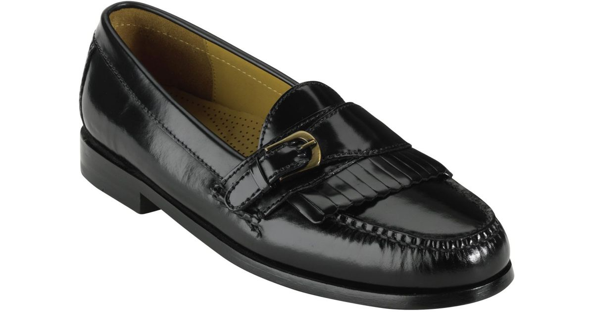96fb7e4fa09 Lyst - Cole Haan Pinch Buckle Loafers in Black for Men