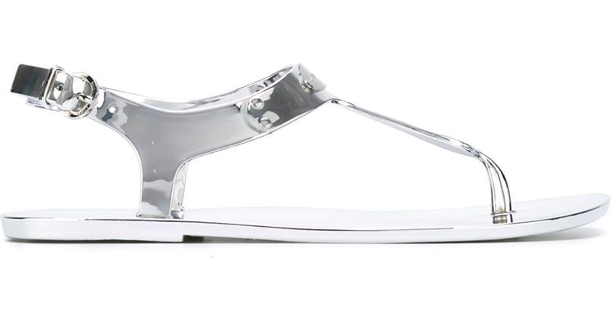 Jelly Sandals Metallic Michael Kors WDH2YE9I