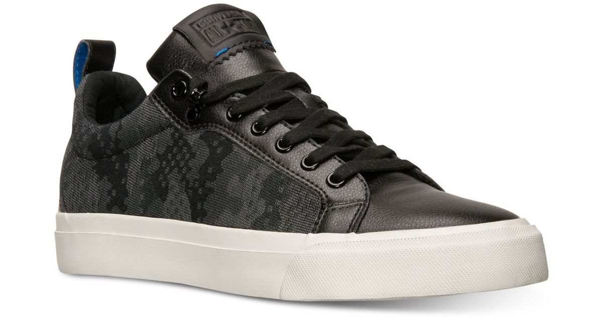 22f4ea8a5a1cb3 Lyst - Converse Men s Chuck Taylor All Star Fulton Camo Jacquard Casual  Sneakers From Finish Line in Black for Men