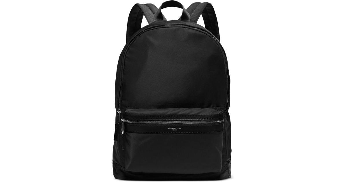 e5bebf38b7 Lyst - Michael Kors Kent Lightweight Nylon Backpack in Black for Men