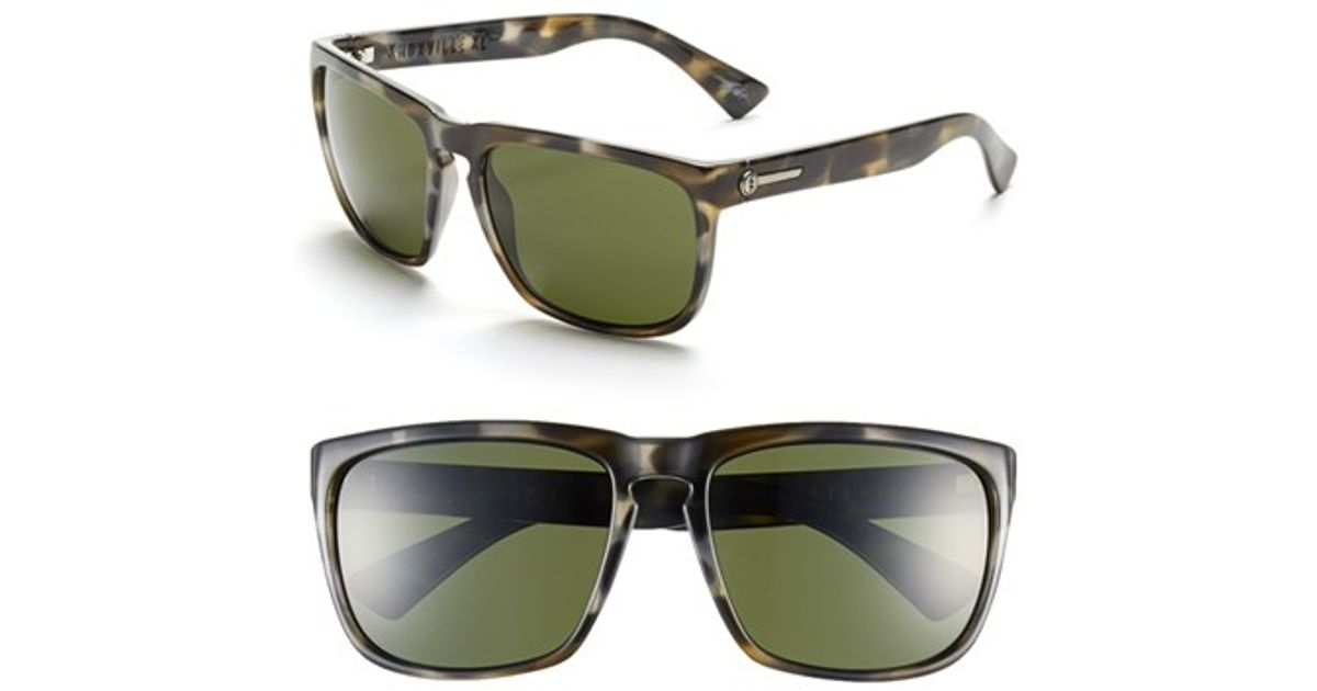 989845d423 Electric  knoxville Xl  61mm Sunglasses - Vintage Tortoise Grey  Grey in  Gray for Men - Lyst