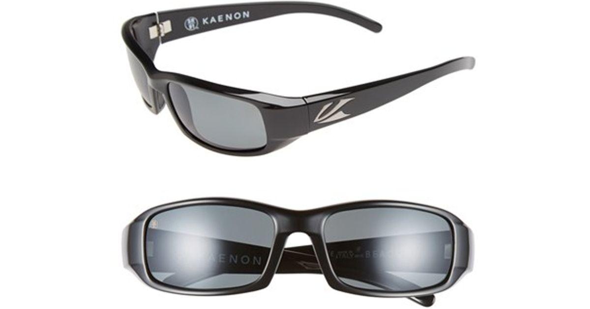 119f4edc13 Lyst - Kaenon  beacon  54mm Polarized Sunglasses in Black for Men