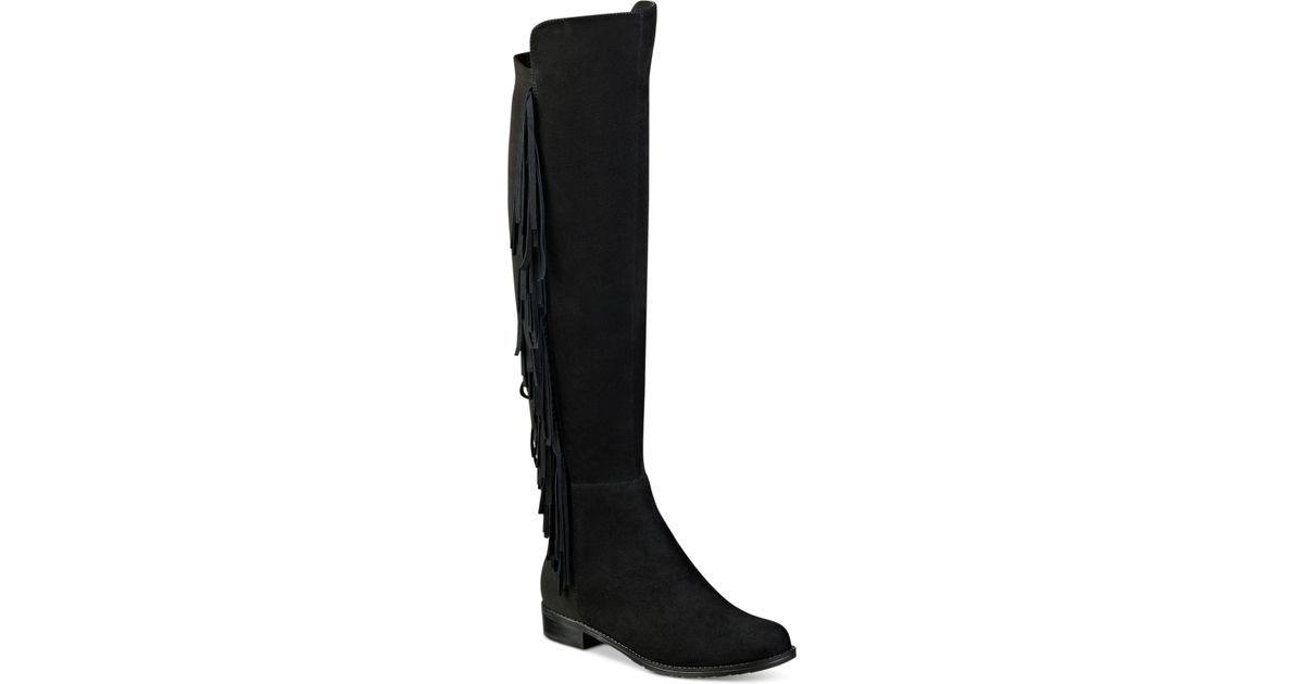 9ec5c432169 Lyst - Marc Fisher Myndee Tall Boots in Black