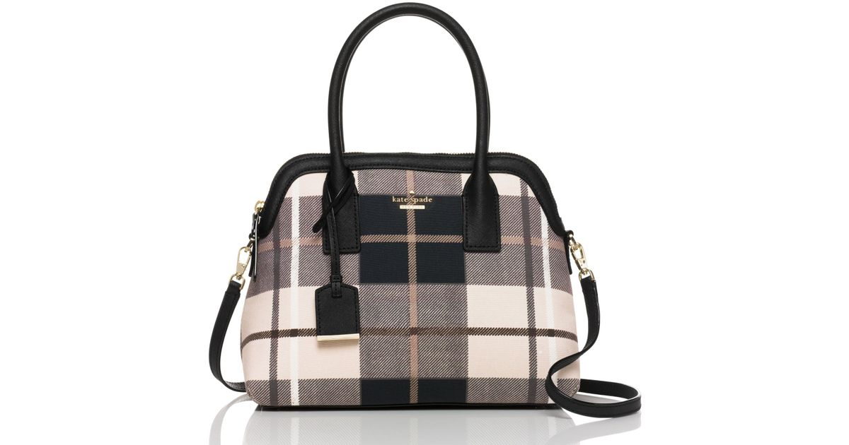 Lyst Kate Spade New York Cameron Street Plaid Maise In Red