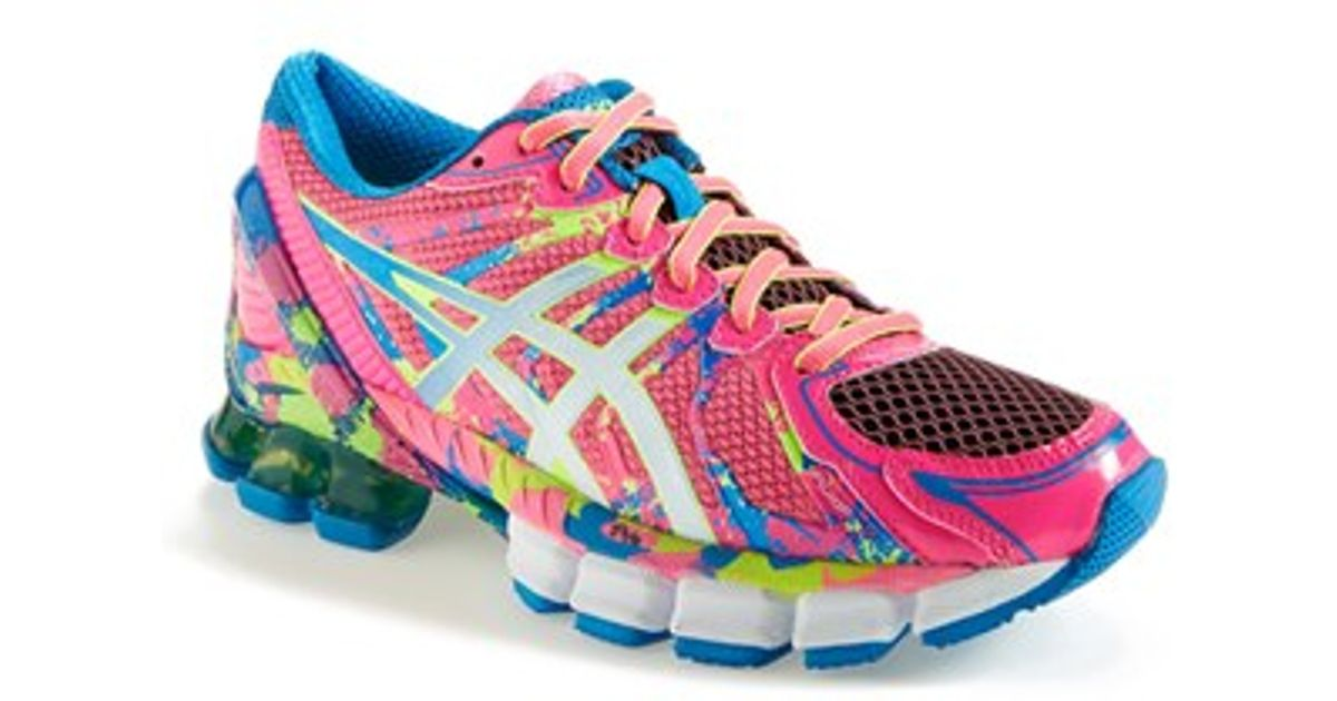 low priced d3ef5 04f59 ... spain lyst asics gel sendai 2 running shoe in pink 06ba7 2e16a