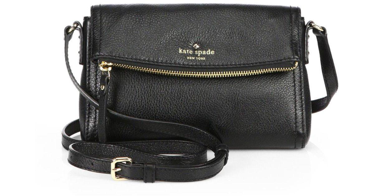 Kate Spade New York Black Cobble Hill Mini Carson Shoulder Bag