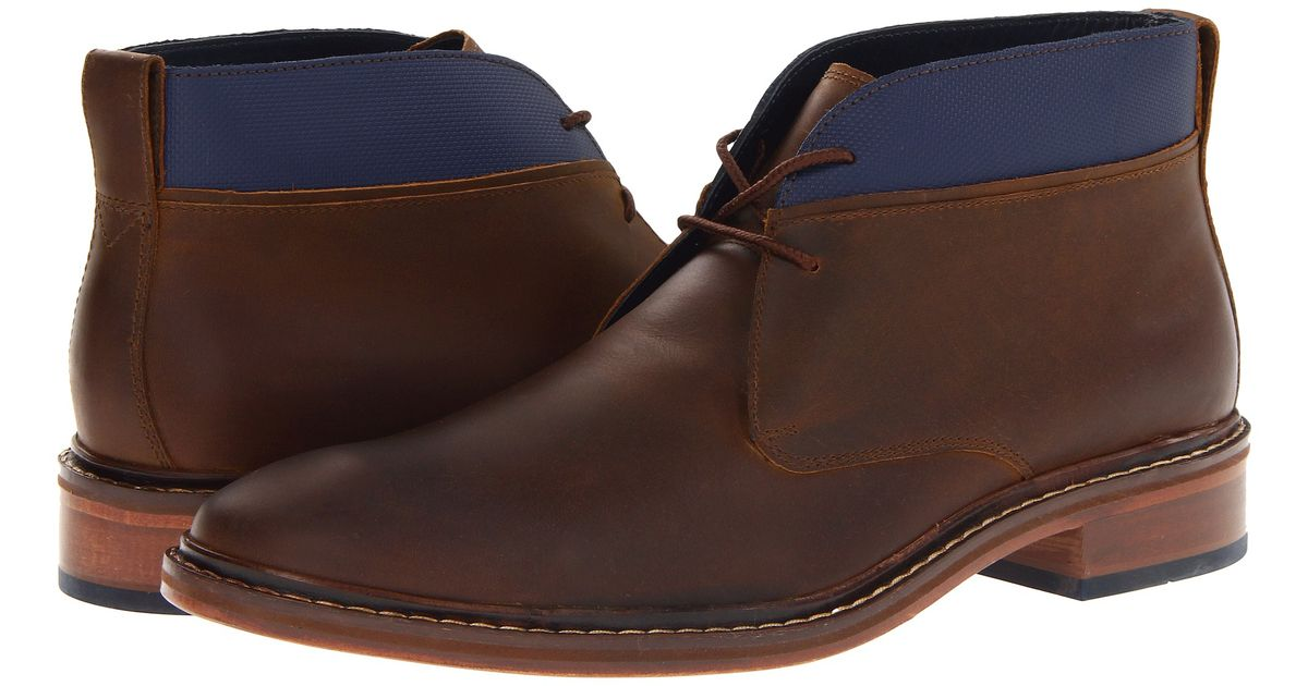 Cole Haan Colton Winter Chukka in Blue