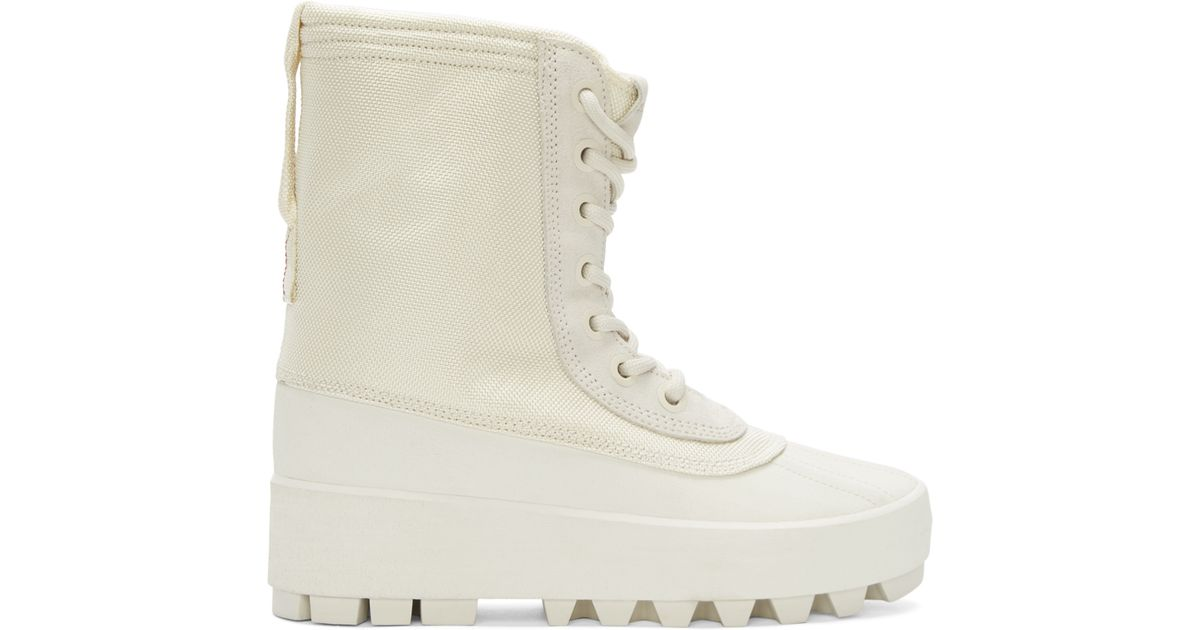 1271731a1 Lyst - Yeezy Cream Yeezy 950 Boots in White