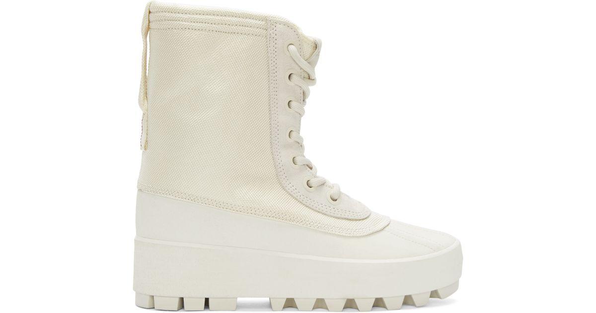 Yeezy Rubber Cream Yeezy 950 Boots in