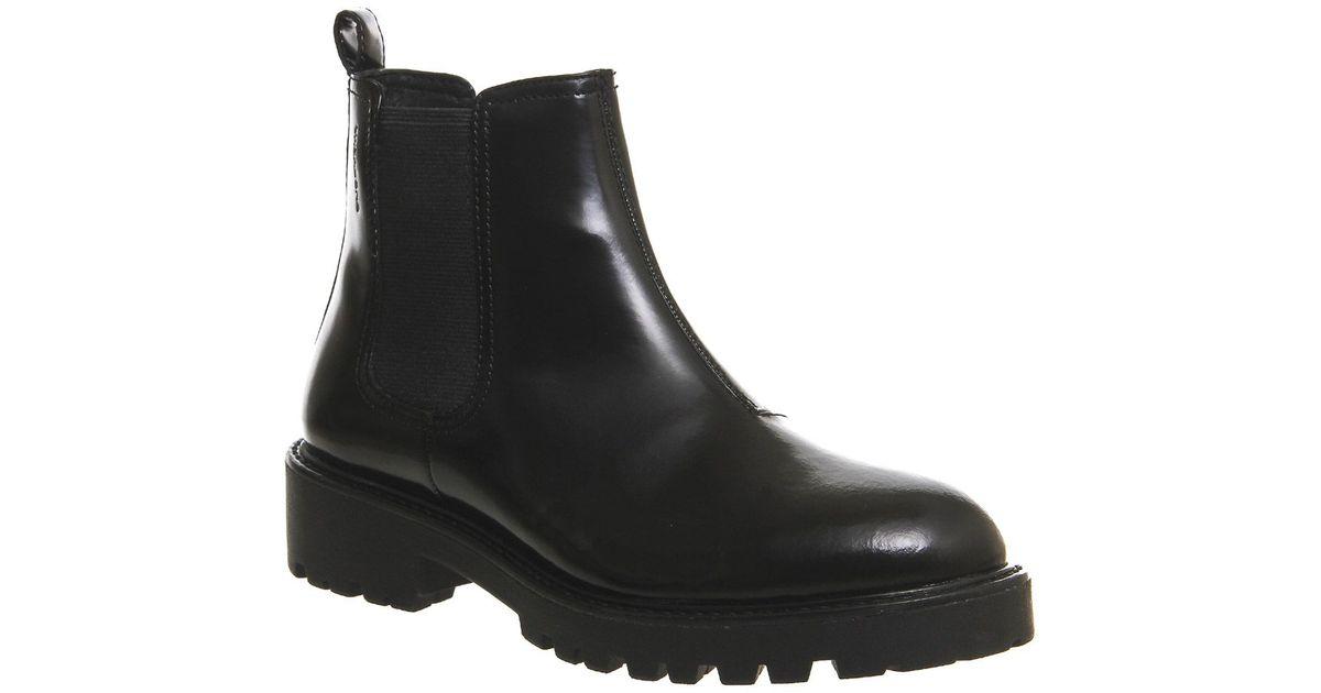 vagabond kenvova chelsea ankle boots in black lyst. Black Bedroom Furniture Sets. Home Design Ideas