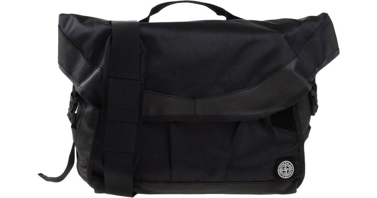 f75bc1b1e8 Lyst - Stone Island Cross-Body Bag in Black for Men