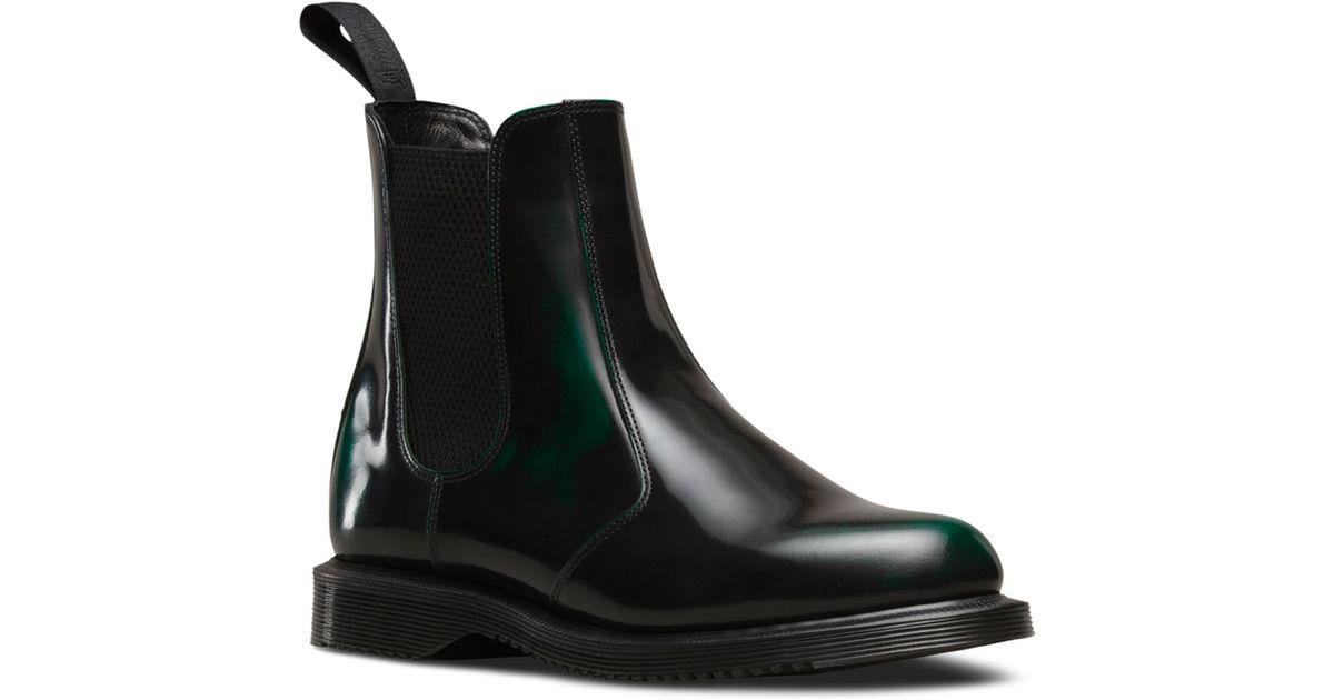 Dr. Martens Leather Flora Chelsea Boot
